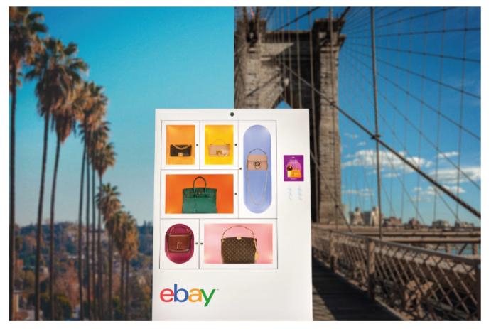 eBay通过luxury handbag machines提供一个奢侈品冷知识游戏